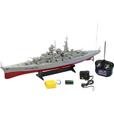 New RC German Bismarck Warship Battleship Remote Control Boat