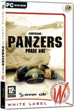 codename panzers Phase One (  PC GAME ) NEW SEALED
