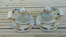 """CUSTOM DOCTOR WHO 3.75""""  DALEK  & HOVERBOUT WHITE"""