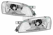 JDM-SPEC EURO CLEAR HEADLIGHTS LAMP FOR SUBARU IMPREZA 1997-2001 PAIR SET