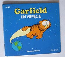 vintage garfield   garfield in space....BOOK BY JIM DAVIS