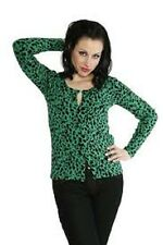 Collectif size L Cardigan Modcloth leopard print cheetah