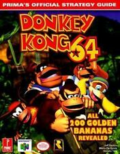 Donkey Kong 64: Prima's Official Strategy Guide De Govia, Mario, Tica, Don, Bart