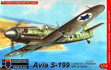 AVIA S-199 LATE (VZECHOSLOVAK & ISRAELI AF MKGS) #49  1/72 KOVOZAVODY PROSTEJOV
