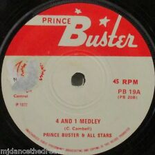 "PRINCE BUSTER - 4 & 1 Medley ~ 7"" Single"