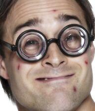 Smiffys Nerd Geek Jam Glas Kostüm Brille Gesprenkelt Junggesellinnenabschied