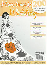 HANDMADE WEDDING MAGAZAINE, ISSUE, 1 ( CREATIVE IDEAS FOR WEDDING BEAUTY, FLOWER