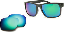 EMERALD GREEN MIRROR Replacement Lenses for Oakley Holbrook Sunglasses