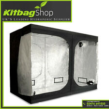New 2.0X2.0X2.0m Hydroponic Grow Tent Bud Dark Green Room Silver Mylar Lined