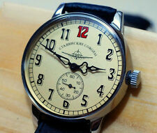 "RUSSIAN MILITARY Hommes WATCH POLIKO AVIATOR ""Les Faucons de Staline"""