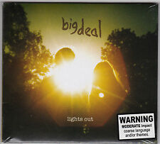 Big Deal - Lights Out - CD (2011 Mute Digipack) Brand New Sealed