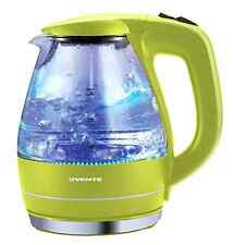 Glass Electric Kettle Tea Pot See Through Kitchen Coffee Hot Water 1.5 L Green