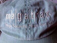 Megatrax Hat Baseball Golf Cap Sage Green Adjustable Mega Sounds, Mega Service