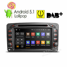 For Mercedes Benz W203 c200 c230 G-W463 CLK Android 5.1 Radio DVD GPS Navigation