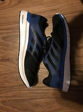 New Men's Adidas DURAMO 7 Size 10.5  Blue Black Running Shoes