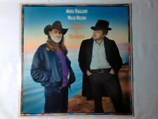 MERLE HAGGARD WILLIE NELSON Seashores of old Mexico lp HOLLAND