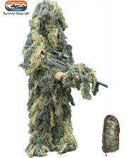 Enfants armée ghillie camouflage fancy dress children's soldat tenue de chasse