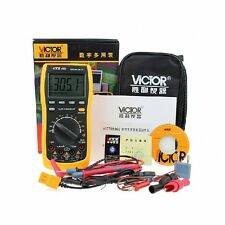 Victor VC86D Digital Multimeter Auto Range AC DC Cap Ohm Tester with RS232 USB