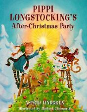 Pippi's After-Christmas Party (Pippi Longstocking)-ExLibrary