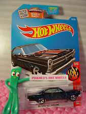 Case C 2016 Hot Wheels '66 FORD 427 FAIRLANE #95✰Black;Blue/Red;White;5sp✰Flames