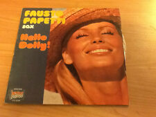 LP FAUSTO PAPETTI HELLO DOLLY DURIUM  LP.S 40.001 VG+/EX+ ITALY PS 1977 SLV