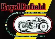 Royal Enfield Super Tuning Moto AFFICHE