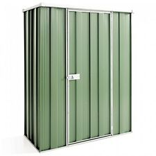 Cheap Sheds 1.41m x 0.72m Flat Roof Colour Garden Shed 15 Year Warranty