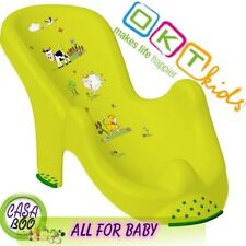 "Anatomic baby bath  chair tub seat  ""FARM"" OKT Kids -IML techn. Brand NEW Green"
