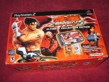 Tekken 5: Ultimate Collector's Edition (Sony PlayStation 2, 2005) SEALED!! LOOK!