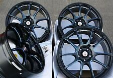 "17"" BLACK BLUE FRICTION ALLOY WHEELS FITS BMW MINI R50 R52 R55 R56 R57 R58 R59"