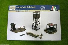 WW2 BATTLEFIELD BUILDINGS Italeri 1/72 kit 6130