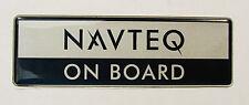Genuine New PEUGEOT Badge 206 207 307 407 607 308 508 Partner NAVTEQ ON BOARD