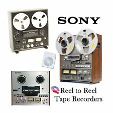 SONY REEL TO REEL TAPE RECORDER MANUALS on CD - VARIOUS MODELS