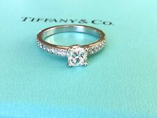 TIFFANY & CO  PLATINUM NOVO DIAMOND RING .64 CT H VVS2 BRAND NEW NEVER WORN $7k