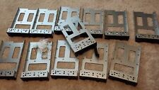 DELL POWEREDGE C1100 C2100 SAS SATA DRIVE 0F463R SWAP CADDY TRAY 3.5 QTY 12 LOT