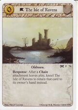 3 x The Isle of Ravens AGoT LCG 1.0 Game of Thrones The Isle of Ravens 76