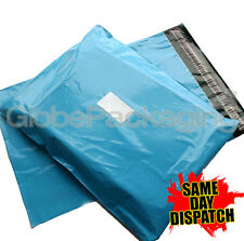 50 x Baby Blue STRONG Postal Mailing Bags - 12 x 16""