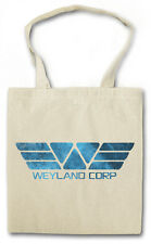 WEYLAND CORPORATION HIPSTER BAG - Stofftasche Stoffbeutel - Alien Prometheus NEW