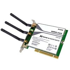 D-Link Xtreme N DWA-552 300Mbps Wireless-N PCI Adapter w/3 Antennas