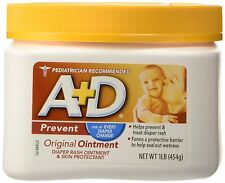 A & D Diaper Rash Dry Chaffed Rashes Skin Protectant Baby Healthy Skin 1lb NEW