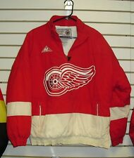 Detroit Redwings coat 90's VINTAGE Pullover Appex 1 Winter jacket sz. Medium NHL