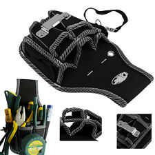 9-in-1 Electrician Waist Pocket Tool Belt Pouch Bag Screwdriver Utility Holder @