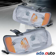 2001 2002 2003 2004 Ford Escape Headlights Replacement Head Lamps Pair