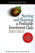 Starting and Running a Profitable Investment Club: The Official Guide Book