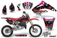AMR Racing Honda CR85R Graphic Kit Decal Sticker MX Wrap 2003-2007 FRENZY RED