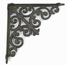 Wandhalterung Eisen Antik rustikal Regalbretter Regalwinkel französische Lilie