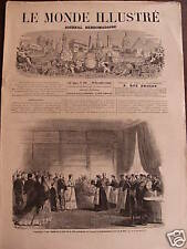 LE MONDE ILLUSTRE 1868 N 607 LA COUR A COMPIEGNE