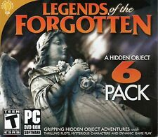 LEGENDS OF THE FORGOTTEN Hidden Object 6 PACK PC Game - Case may be shopworn