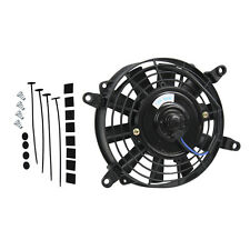"""Best 7"""" 12V volt Electric Cooling Fan Thermo Fan + Mounting kits Hot Sale"""