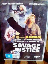 SAVAGE JUSTICE *DVD* USED *